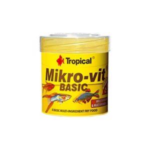mikronizowany pokarm dla narybku tropical micro-vit basic
