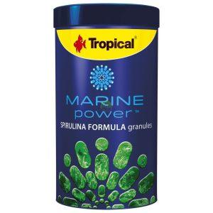 poakrm dla ryb morskich spirulina formula granulat tropical