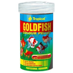 pokarm dla złotych rybek w granulacie tropical