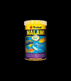 suchy pokarm w płatkach dla pielęgnic z jeziora malawi tropical