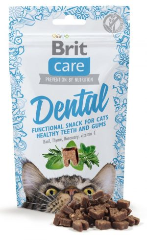 brit care cat snack dental przysmak dla kota