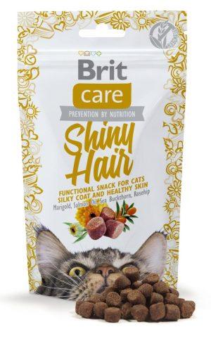 przysmak dla kota brit care shiny hair