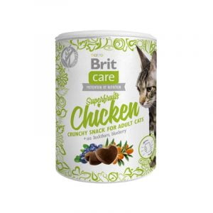 przysmak dla kota brit care cat superfruits chicken