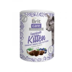 przysmak dla kociąt brit care cat snack superfruits