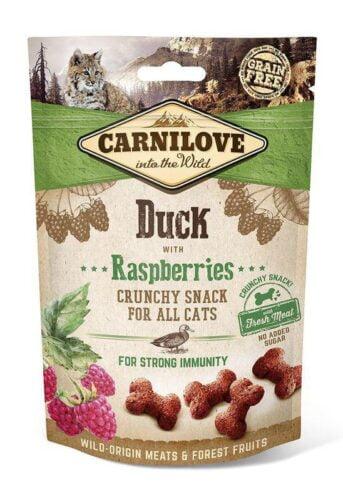smakołyki dla kota Carnilove kaczka