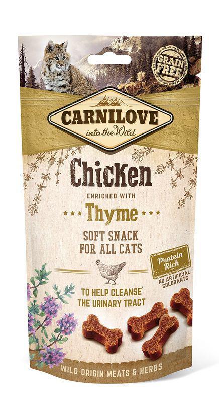 smakołyki dla kota Carnilove kurczak