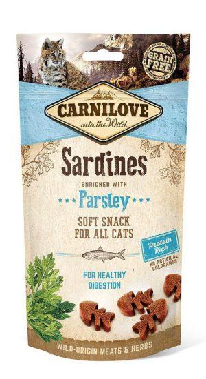 smakołyki dla kota Carnilove sardynki
