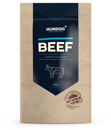 HUNDOG Suszona wołowina 165 g
