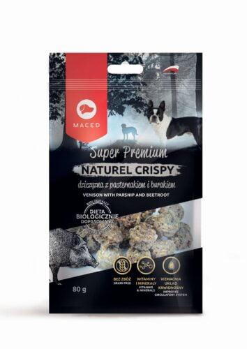 smakołyki dla psa Maced Natural Cripsy dziczyzna z pasterniakiem