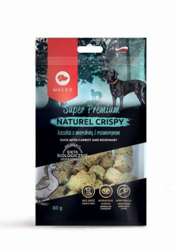 smakołyki dla psa Maced Natural Cripsy kaczka z marchwią