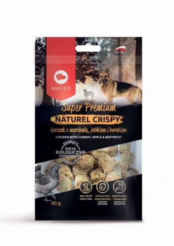 smakołyki dla psa Maced Natural Cripsy kurczak z marchewką