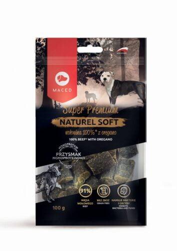 smakołyki dla psa Maced Natural Soft wołowina oregano