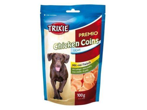 TRIXIE Chicken Coins Light z suszonym mięsem z piersi kurczaka (100 g) TX-31531