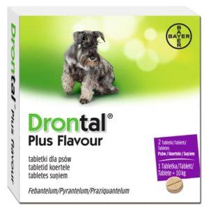 Drontal Plus Flavour Tabletka na odrobaczanie dla psów