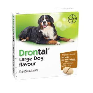 Drontal Plus Flavour Tabletka na odrobaczanie dla psów pow. 35 kg