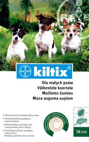 Bayer Kiltix obroża dla małych psów 38 cm