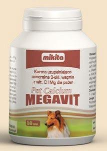 MIKITA Pet Calcium (100 tabletek)