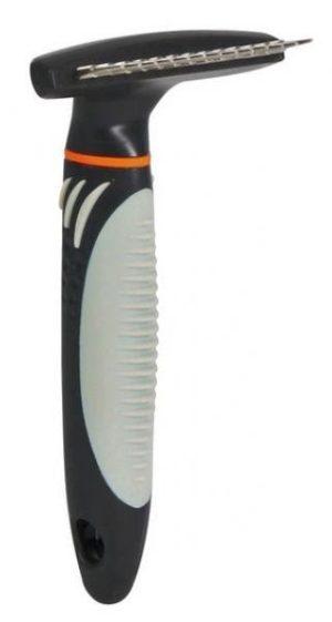 TRIXIE Zgrzebło obrotowe dla włosa długiego dla psa lub kota (7x14 cm)