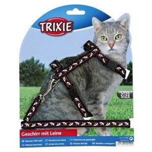 TRIXIE Szelki dla kota ze smyczą motyw