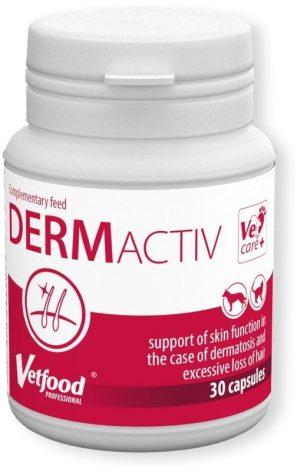 vetfood dermactiv na problemy skórne