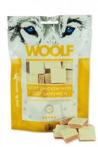 WOOLF Chicken and cod sandwich 100g
