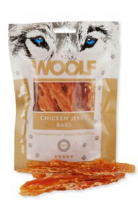 WOOLF Chicken jerky bars 100g