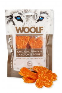 WOOLF Chicken, pumpkin and oats bone 100g