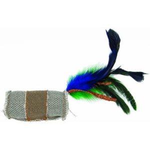 BARRY KING Walec z piórkiem i sznurem z trawy 4 x 9,5 cm
