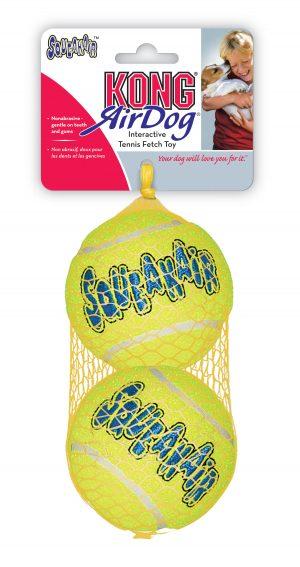 zabawka dla psa kong piszczące piłki tenisowe L