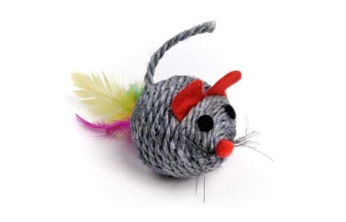 JK ANIMALS Sizalowa myszka