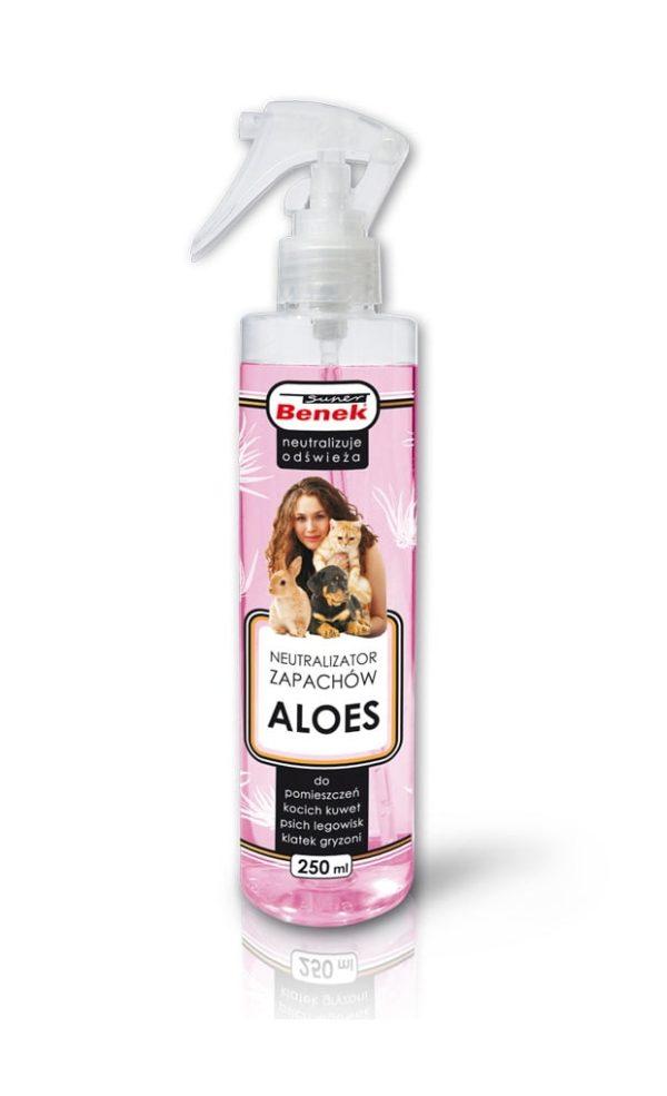 CERTECH Super Benek Pochłaniacz zapachów w sprayu aloes 250 ml