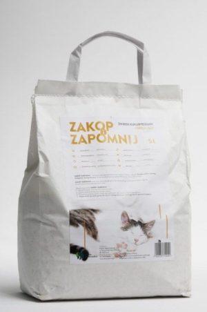żwirki dla kota Zakop i Zapomnij Drewniany