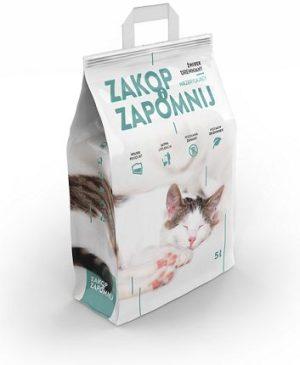 żwirek dla kota Zakop i Zapomnij Drewniany